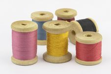 Free Reel Of Thread Royalty Free Stock Photos - 15388408