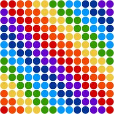 Free Rainbow Circles Royalty Free Stock Photo - 15388425
