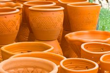 Free Flowerpots Royalty Free Stock Image - 15388866