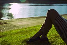 Woman S Legs 01 Stock Image