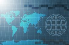 Free World Map Background Stock Photography - 15389572