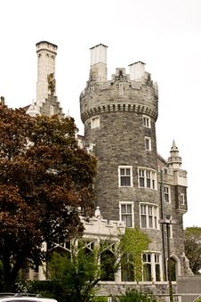 Free Casa Loma, Toronto Stock Photography - 15389872