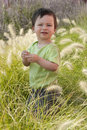 Free Child In A Garden Stock Images - 15399414