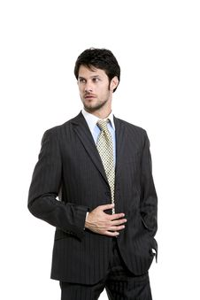 Businessman  Portrait Royalty Free Stock Images