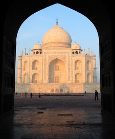 Free Taj Mahal Royalty Free Stock Photos - 15390748