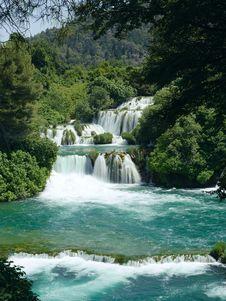 Free Waterfall Royalty Free Stock Image - 15399406