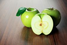 Sweet Apples Royalty Free Stock Photos