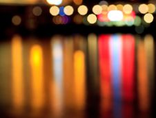 Free Abstract Color Lights Stock Images - 15399494