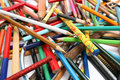 Free Collection Of Multi-colour Pencils From A Wood And Plastic Stock Photo - 1546830