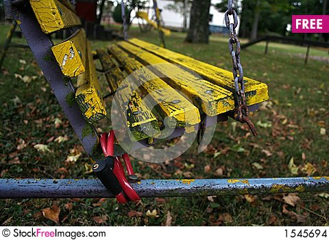 Free Chained Swing Stock Images - 1545694