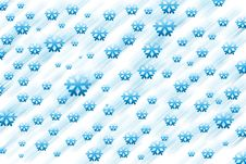 Free Snow Flake Background Stock Images - 1542584