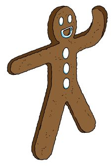 Free Ginger Cookie Man Stock Images - 1543184