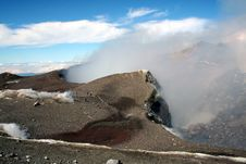Free Summit Of Mount Etna Royalty Free Stock Photo - 1543575