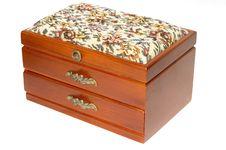 Free Old Small Box Birchen Royalty Free Stock Image - 1543696