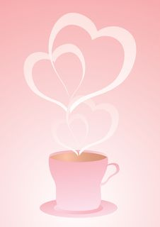 Love Coffe Stock Image