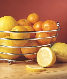 Free Citrus Fruits Royalty Free Stock Image - 1544006