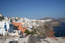Free Santorini Houses Stock Photo - 1544390