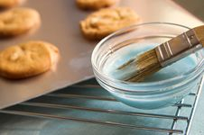 Free Baked Cookies With Icing Stock Photos - 1544773