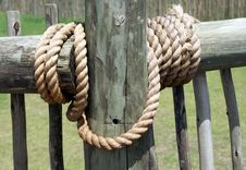 Securing Rope Royalty Free Stock Images