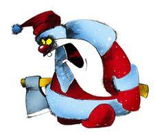 Free Angry Santa Stock Images - 1546974