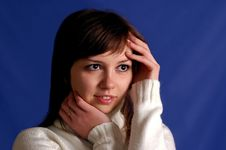 Free Female Portrait Stock Photos - 1546993