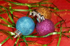 Free Christmas Ornaments Royalty Free Stock Photography - 1548117