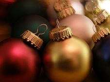 Free Christmas Ornaments Royalty Free Stock Images - 1548519