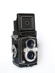 Free Vintage TLR Camera Royalty Free Stock Images - 1548879