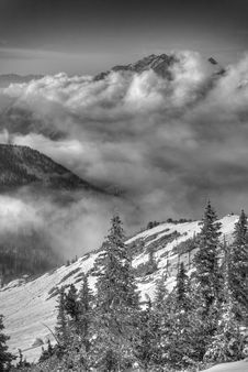 Free High Above The Clouds Royalty Free Stock Photos - 1548978