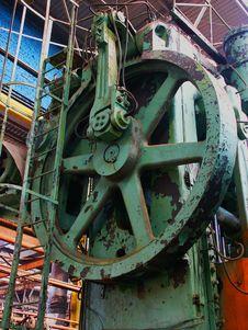 Rusty Machinery Stock Image
