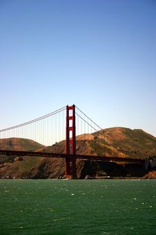 Free Golden Gate Bridge, San Francisco Royalty Free Stock Photo - 1549275