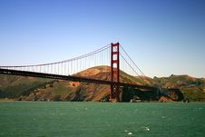 Free Golden Gate Bridge, San Francisco Royalty Free Stock Photo - 1549285