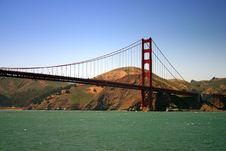 Free Golden Gate Bridge, San Francisco Royalty Free Stock Photos - 1549288