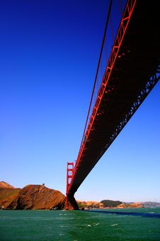 Free Golden Gate Bridge, San Francisco Royalty Free Stock Images - 1549309