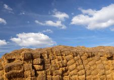 Free Hay Bales Royalty Free Stock Photo - 1549445