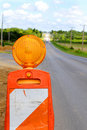 Free Traffic Cone Flasher Royalty Free Stock Photo - 15400225