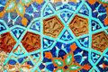 Free Fragment Of Tiled Wall With Mosaic Royalty Free Stock Image - 15406776