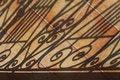 Free Shadows On Tiled Patio Stock Photos - 15407503