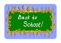 Free Back To School - Card. Vector Illustration. Royalty Free Stock Photo - 15407545