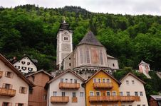 Free Churches Of Hallstatt Churches Royalty Free Stock Photography - 15400397