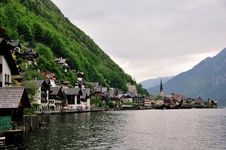 Free Hallstatt On The Lake Royalty Free Stock Image - 15400416