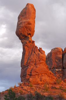 Balancing Rock Stock Photography