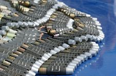 Free Very Large Ammunition Royalty Free Stock Images - 15401309