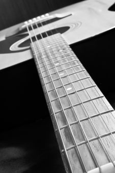 Free Guitar Royalty Free Stock Image - 15402076