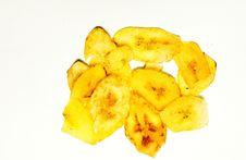 Free Dried Banana Stock Photo - 15402450