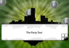 Free The Party Flyer Stock Photos - 15403473
