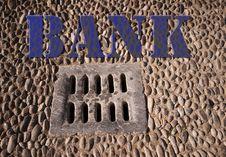 Free Drain Bank Royalty Free Stock Image - 15404596