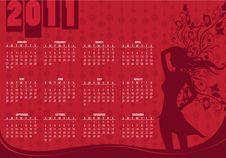 Free Calendar For 2011 Stock Image - 15404891