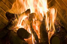 Free Natural Fire Stock Image - 15404981