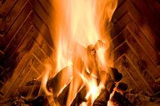 Free Fireplace Royalty Free Stock Photos - 15405058